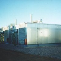 Diesel powered package generation plant for prime power in NT.
