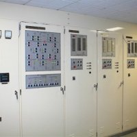 An automatic control system for a water desalination plant power station.